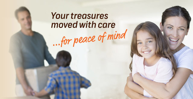 Your treasures moved with care banner