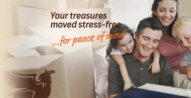 Your treasures moved stress-free banner