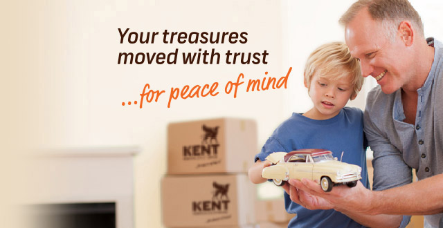 Your treasures moved with trust banner